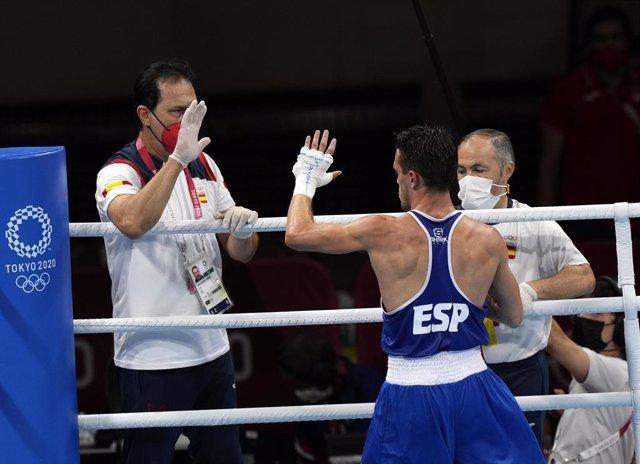 El boxeador español Gabriel Escobar