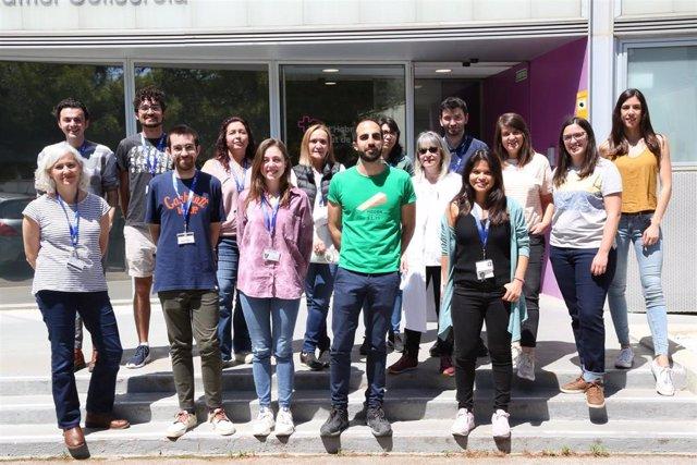 Grupo de los investigadores dirigidos por la Doctora Ibane Abasolo (CIBER-BBN) en el VHIR.