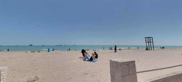 Archivo - Playa de El Saler