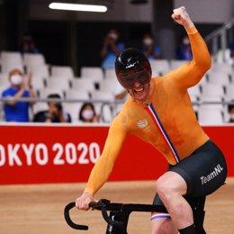 Países Bajos gana la medalla de oro en la prueba de esrpint por equipos en pista en los Juegos Olímpicos de Tokyo 2020