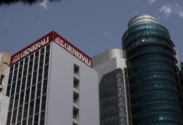 Archivo - Edificio de la sede de Generali, en Madrid (España), a 30 de julio de 2020.