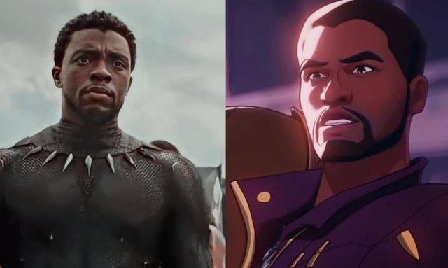 Fotogramas De Black Panther Y ¿Qué Pasaría Si...? (What If...?)