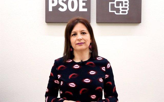 Archivo - La secretaria de Empleo del PSOE de Jaén, Isabel Uceda.