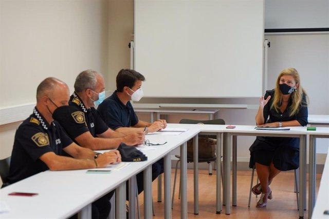 Reunión del Centro de Coordinación Operativo Municipal del Ayuntamiento de Castelló (Cecopal)
