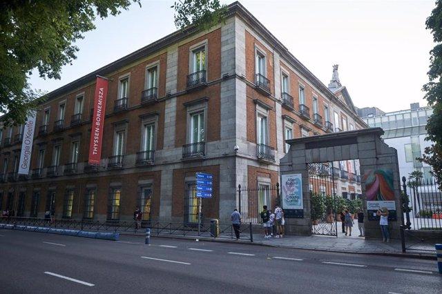 Palacio de Villahermosa, sede del Museo Nacional Thyssen-Bornemisza, en Madrid.