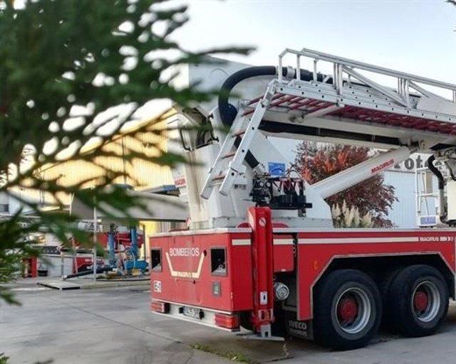 Archivo - Camión bomberos en una imagen de archivo