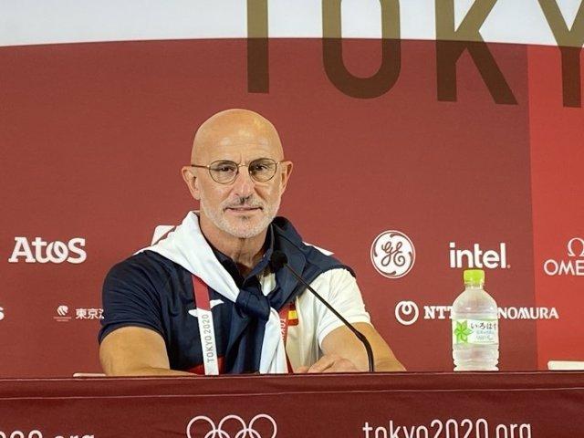 El seleccionador olímpico de fútbol, Luis de la Fuente