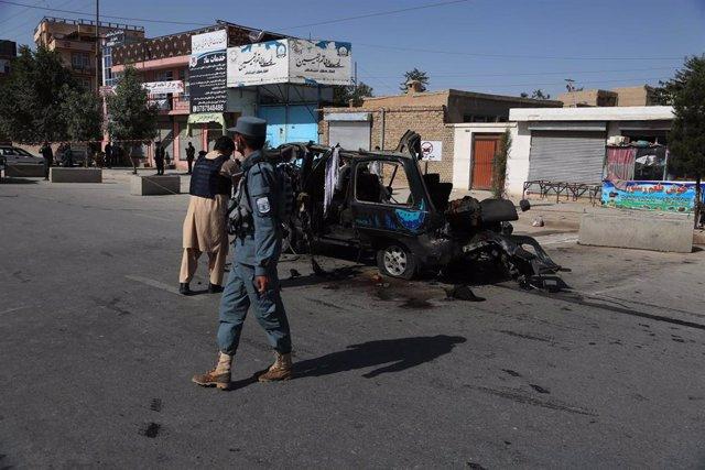 Archivo - Miembros de las fuerzas de seguridad de Afganistán en Kabul