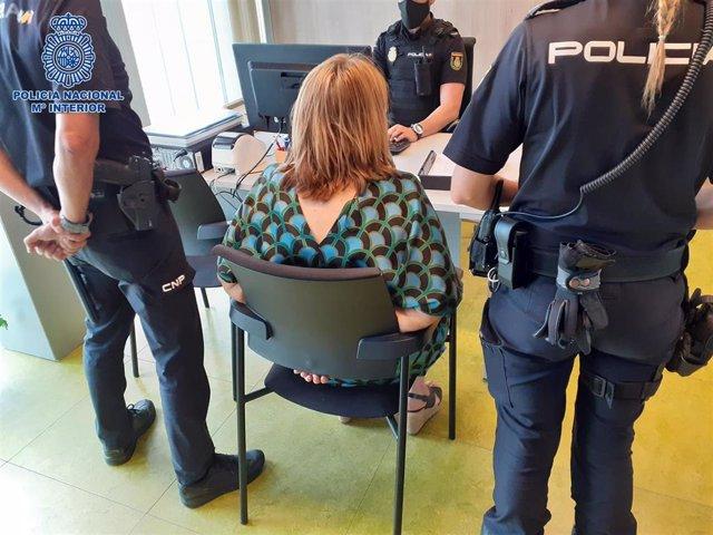 La Policía Nacional detiene a la autora de una trama de estafas a través de aplicaciones de compra-venta por todo el territorio nacional