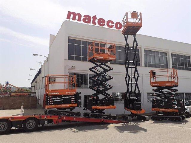 Archivo - Plataforma elevadora Mateco