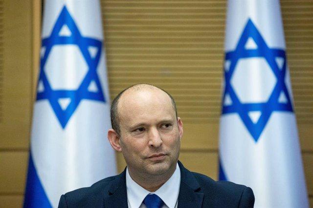 Archivo - El primer ministro israelí, Naftali Bennett