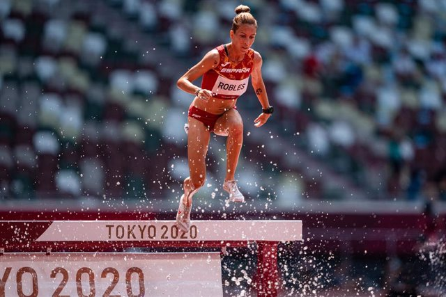Carolina Robles en Tokio
