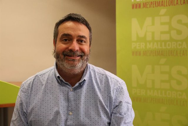 El diputado de MÉS Joan Mas 'Collet'.