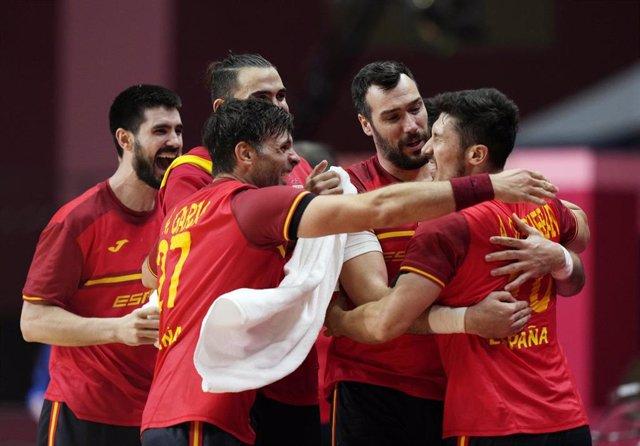Selección española masculina de balonmano, Hispanos