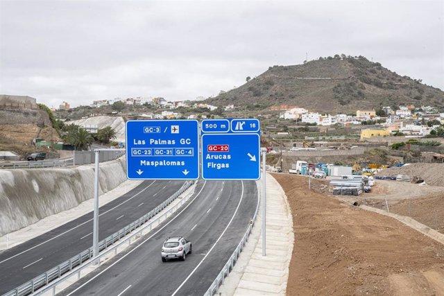 Autovía GC-3, último tramo de la IV Fase de la Circunvalación de Las Palmas de Gran Canaria