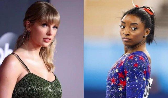 Taylor Swift y Simone Biles