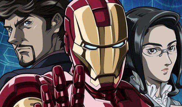 Foto Promocional Del Anime De Iron Man