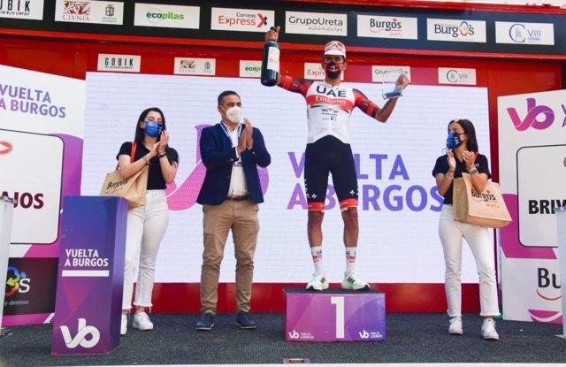 El ciclista colombiano Juan Sebastián Molano gana la segunda etapa de la Vuelta a Burgos