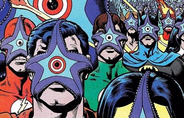 La Liga de la Justicia poseída por Starro
