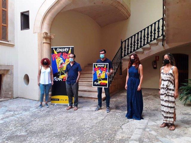 Presentación del Ayuntamiento de Palma del certamen Pop-Rock