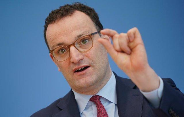 Archivo - El ministro de Sanidad de Alemania, Jens Spahn