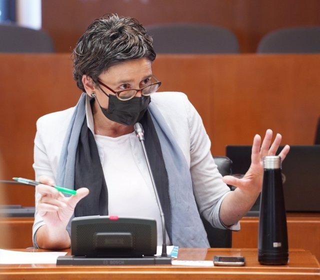 Archivo - Foto de archivo de la diputada del PP en las Cortes de Aragón, Ana Marín.