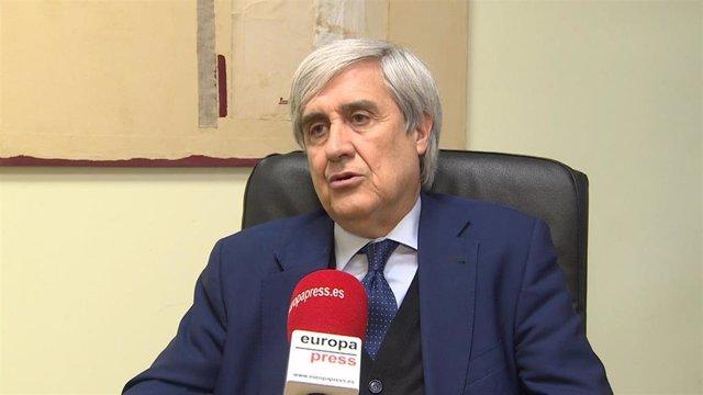 Archivo - Juan José Badiola, director del Centro de Encefalopatías y Enfermedades Transimisibles Emergentes de la Universidad de Zaragoza.
