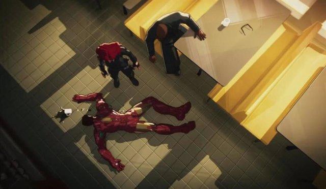 Escena de la featurette de '¿Qué pasaría si...?' de Marvel