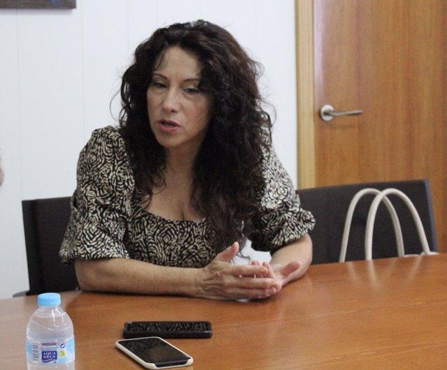 La consejera de Igualdad, Políticas Sociales y Conciliación, Rocío Ruiz, en imagen de archivo