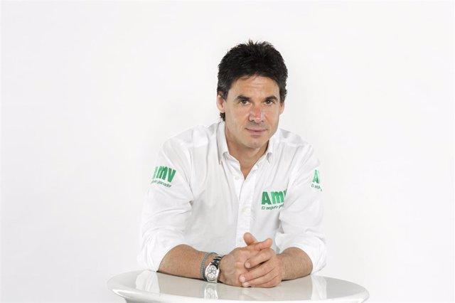 Archivo - El expiloto Álex Crivillé, embajador de AMV Seguros
