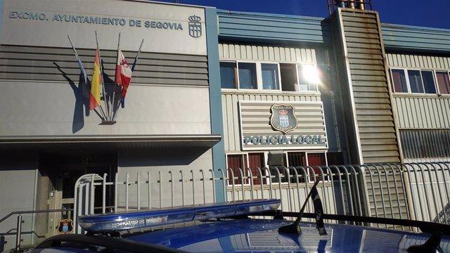 Luto en la Policía Local de Segovia.