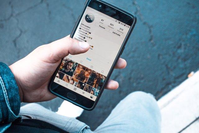 Perfil de usuario en Instagram