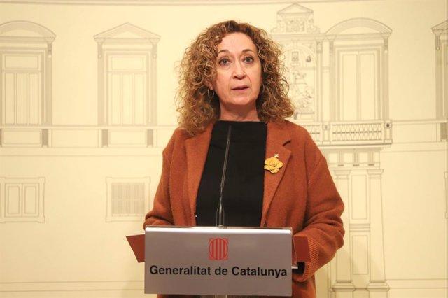 Archivo - Arxivo - La delegada del Govern a Madrid i exconsellera de Justícia, Ester Capella, en una imatge d'arxiu.