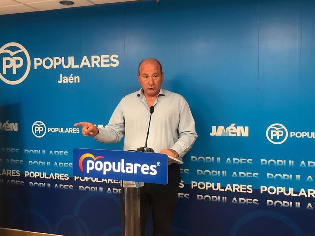 El senador del PP de Jaén, Javier Márquez.