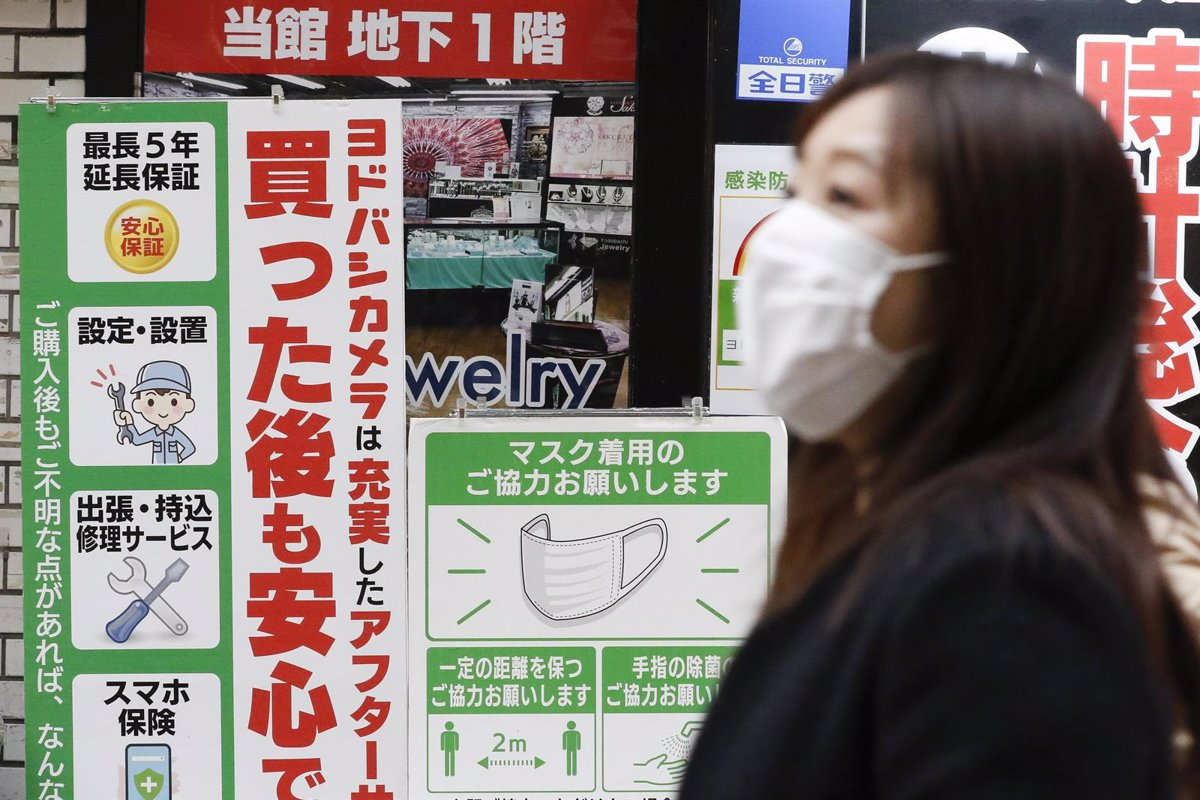 Japan surpasses the threshold of one million cases of coronavirus in full Olympic Games in Tokyo