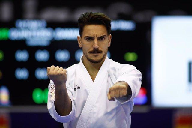 Archivo - Arxivo - El karateca espanyol Damián Quintero