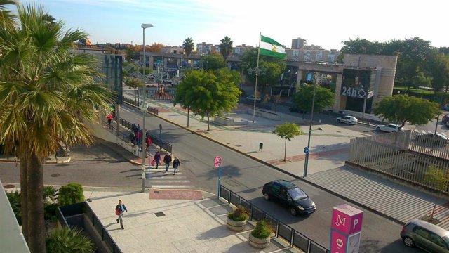 Archivo - Imagen de archivo del centro de Mairena del Aljarafe.