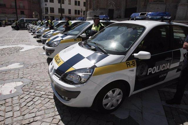 Archivo - Policía local de Cádiz