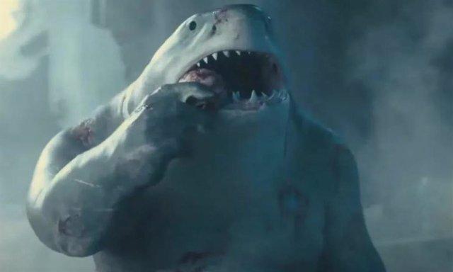 King Shark En 'El Escuadrón Suicida'