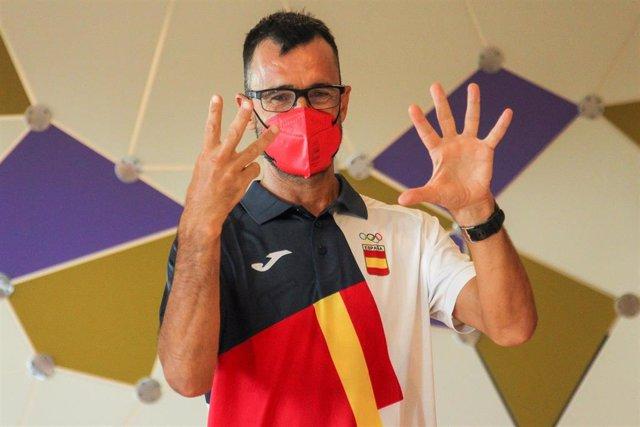 """Jesus Angel """"Chuso"""" Garcia Bragado, atleta español de 50 kilómetros marcha"""