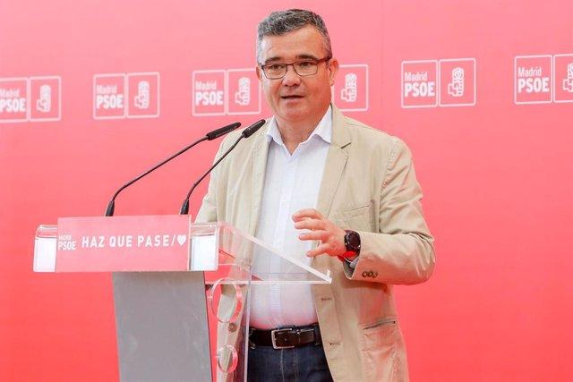Archivo - Imagen de recurso del alcalde del Ayuntamiento de Arganda del Rey y presidente de la Federación de Municipios de Madrid (FMM), Guillermo Hita.