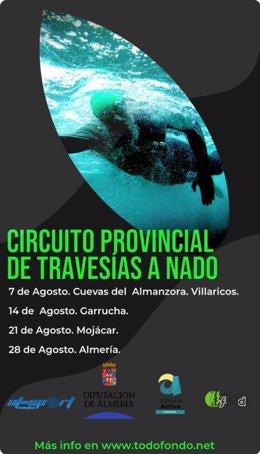 Circuito provincial de travesías a nado de la Diputación de Almería.