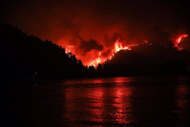 Incendis forestals a Grècia