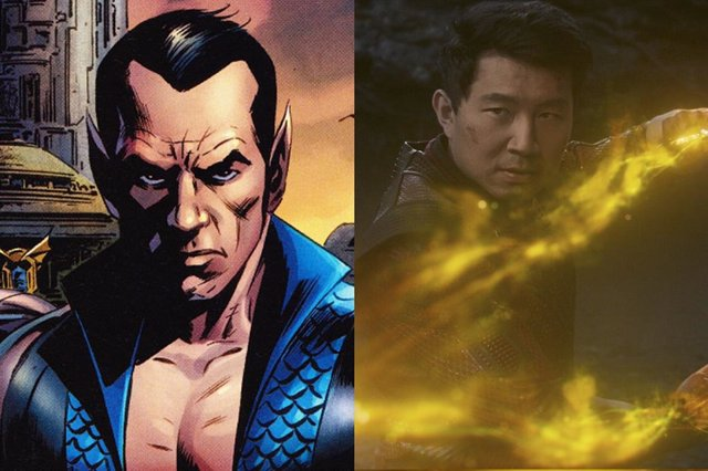 ¿Atlantis En Shang-Chi Y La Leyenda De Los Diez Anillos?