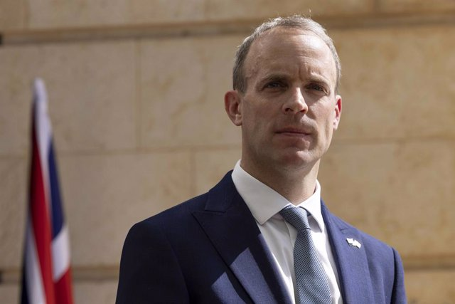 Archivo - Arxivo - El ministre d'Exteriors del Regne Unit, Dominic Raab