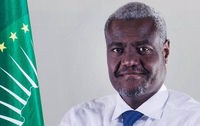 Archivo - Arxivo - El president de la Comissió de la Unió Africana, Moussa Faki Mahamat