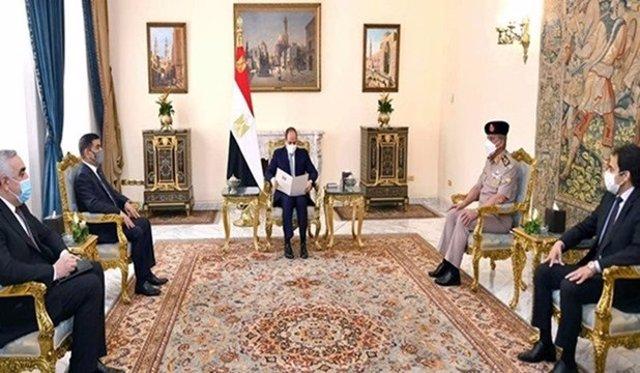 Reunión entre mandatarios de Egipto e Irak