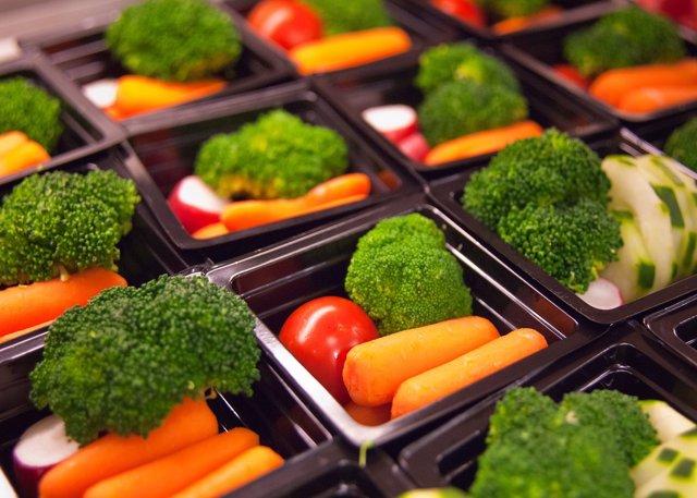 Archivo - Comida saludable, verdura