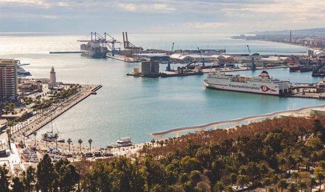 Archivo - Puerto de Málaga