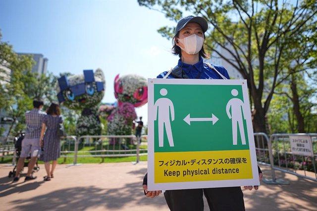 Coronavirus en Jocs Olímpics de Tòquio